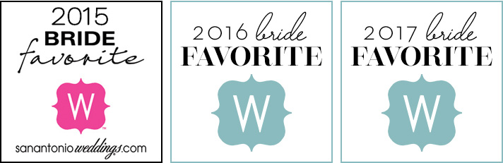 San Antonio Weddings Favorite Bride 2015-2017