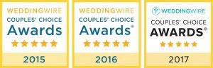 WeddingWire Couple's Choice Awards 2015-2017